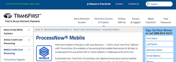 TransFirst Credit Card Processing