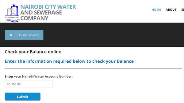 Nairobi Water Bill Inquiry: How to Check Nairobi Water Bill