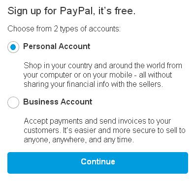 PayPal Kenya Account