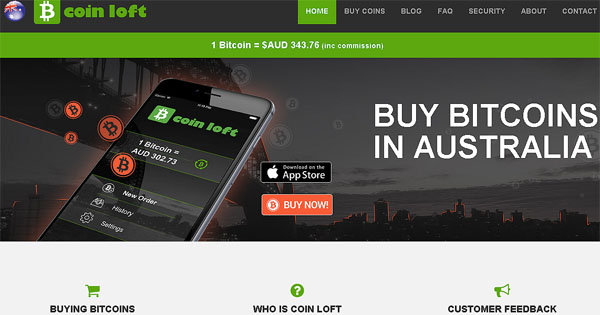 CoinLoft Bitcoins In Australia