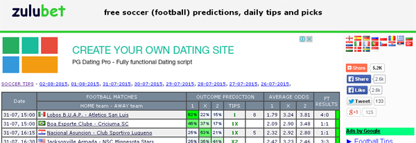 Predictor Bbc