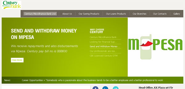 Century Microfinance Bank Ltd