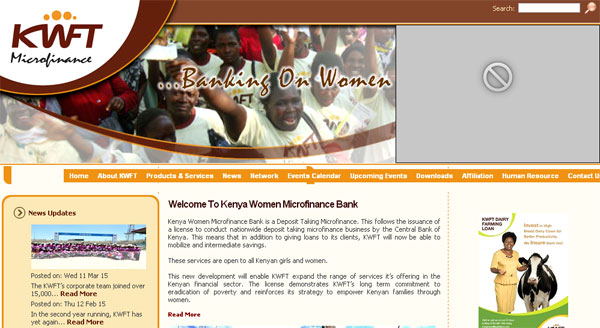 KWFT: Kenya Women Microfinance Bank