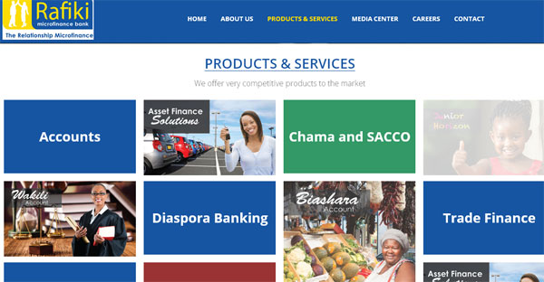 Rafiki Microfinance Bank Ltd